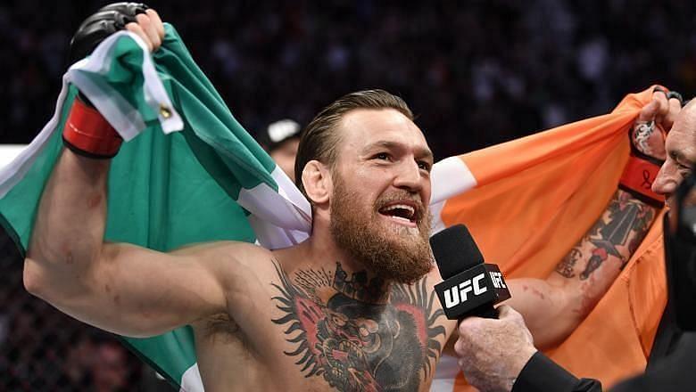 Conor McGregor a talker