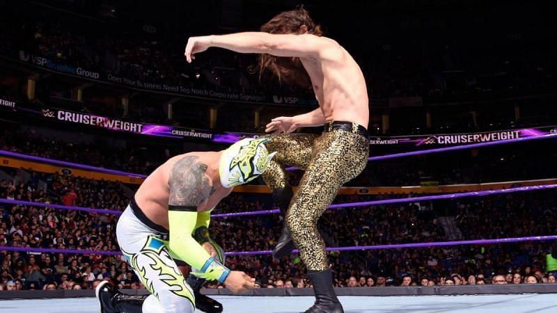 Sin Cara lost his final match as a cruiserweight against The Brian Kendrick