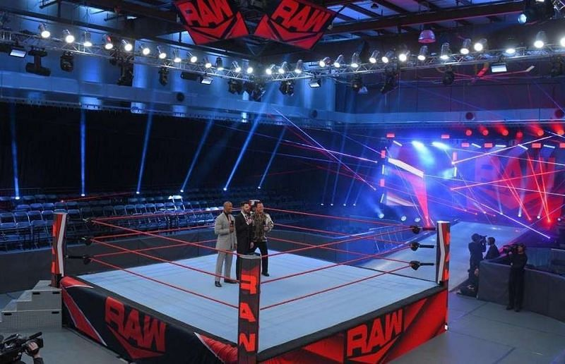 WWE had move its shows to the Performance Centre last year