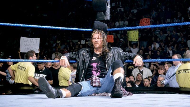 Raven is a 27-time WWE Hardcore Champion