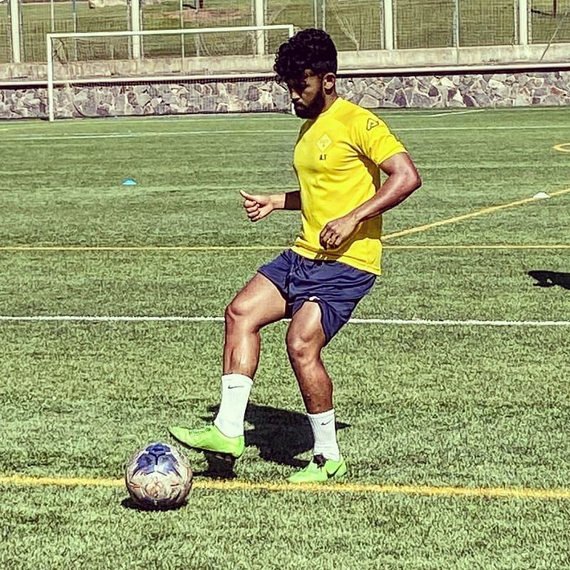 Vithayathil has experienced professional football in Spain, Germany and Italy