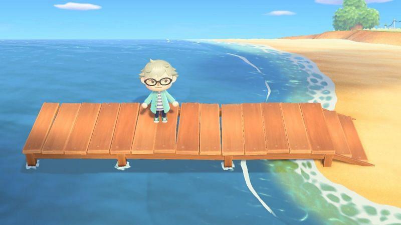 The pier. Image via Animal Crossing Wiki