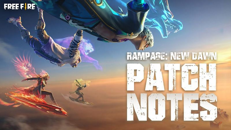 Garena has released the patch notes for Free Fire