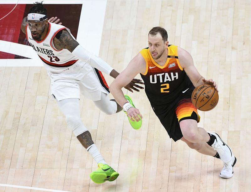 Myles Turner in action against the Utah Jazz