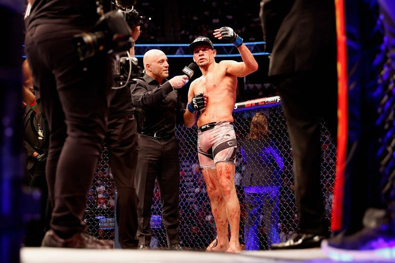 Nate Diaz reflects on the fight against Leon Edwards