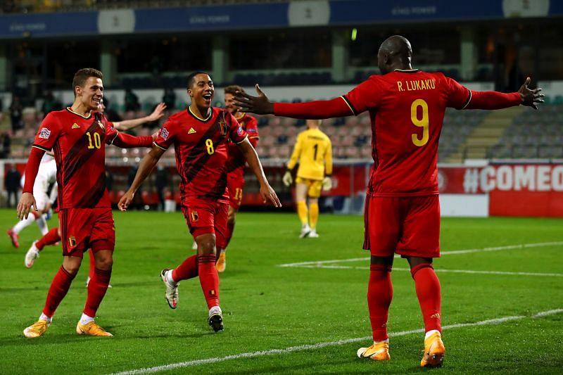 Belgium take on Denmark this week