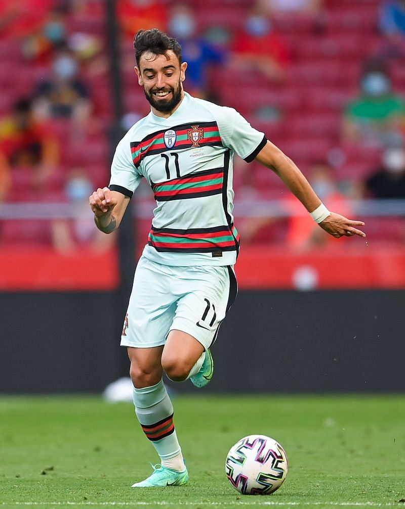 Bruno Fernandes will pull the strings from midfield for Portugal at Euro 2020.