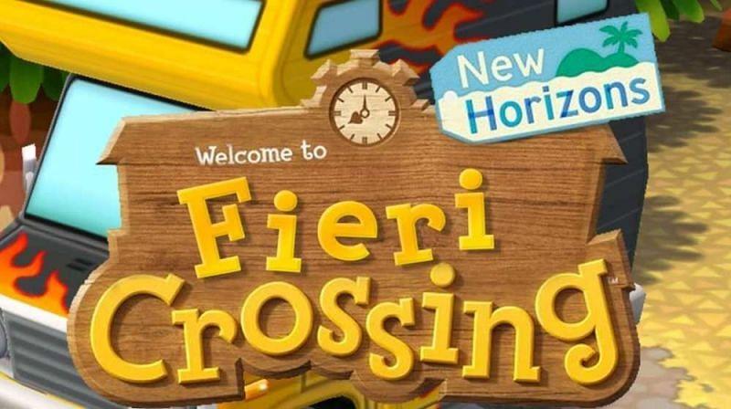 Guy Fieri loves Animal Crossing. Image via Twinfinite
