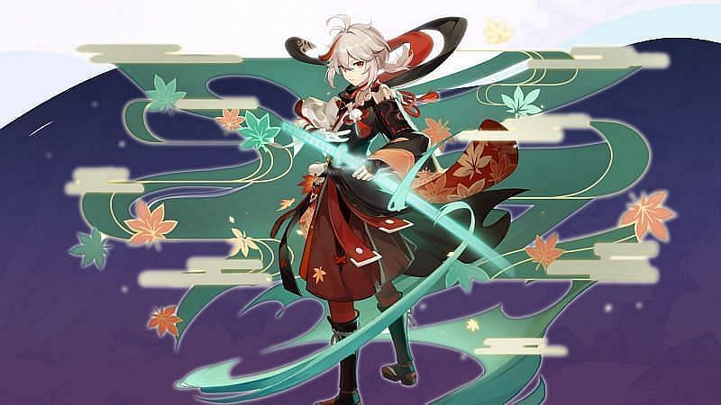 One of Kazuha's voicelines references Gorou (Image via miHoYo)