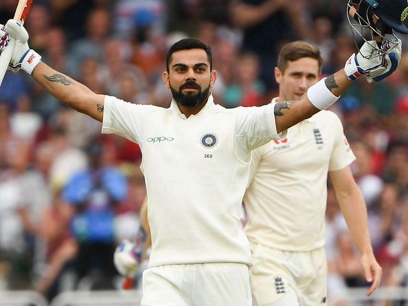 Virat Kohli enjoyed great success with the bat on India