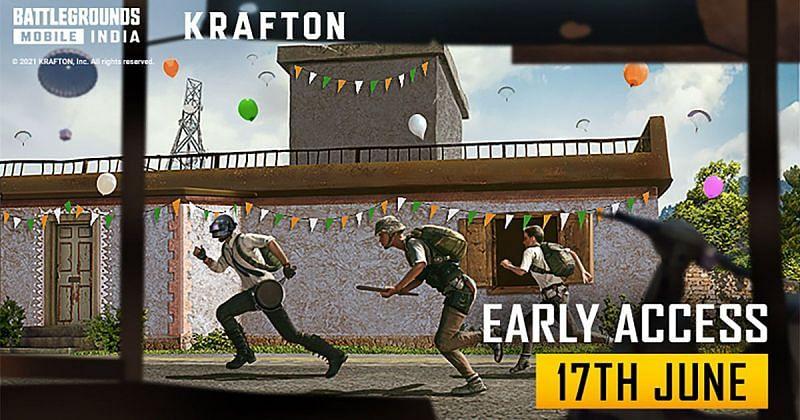 Battlegrounds Mobile India has been a huge success(Image via Battlegrounds Mobile India Official)