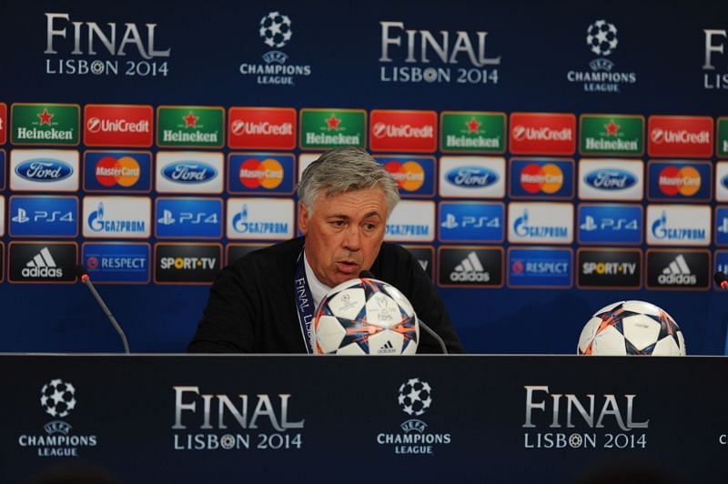 Real Madrid Post Match Press Conference - UEFA Champions League Final