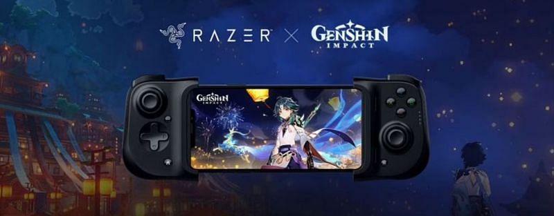 Przykład konsoli, która oficjalnie obsługuje Genshin Impact (zdjęcie za pośrednictwem RAZER)