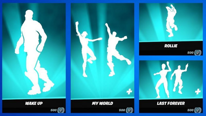 Grab all of Ayo & Teo emotes while it lasts (Image via Fortnite/Epic Games)