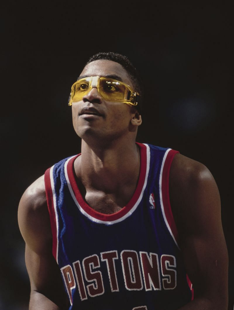 Isiah Thomas #11, Point Guard for the Detroit Pistons