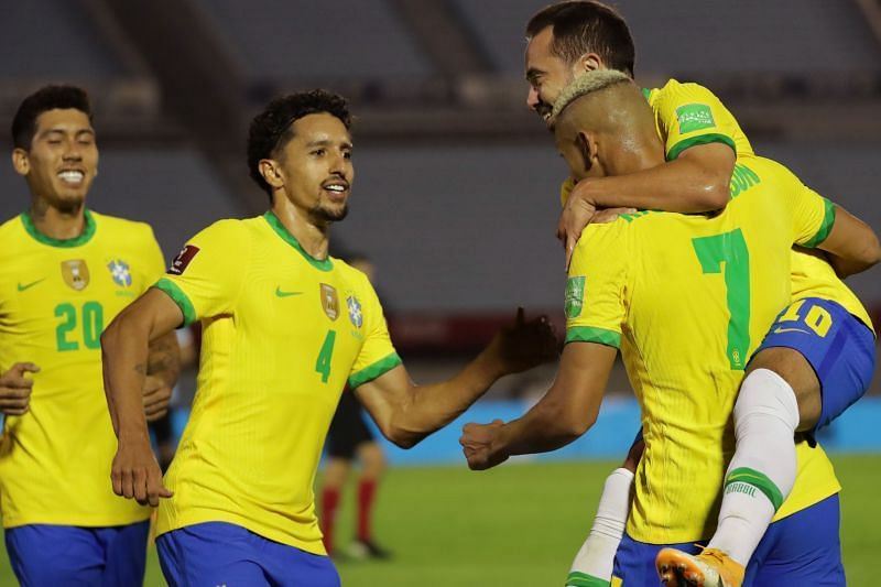 Brazil comprehensively outplayed Uruguay 2-0 away from home in their last World Cup Qualifier