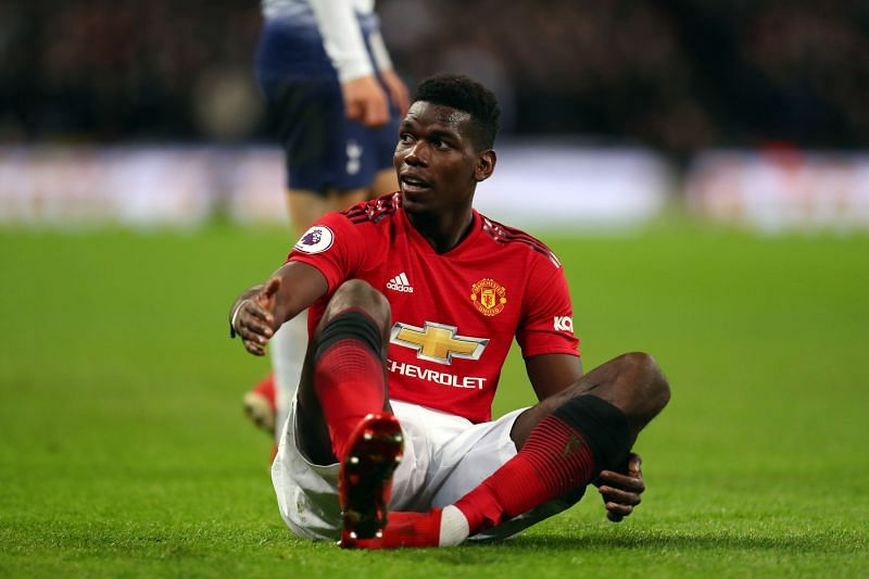 Paul Pogba has had an indifferent second spell at United.