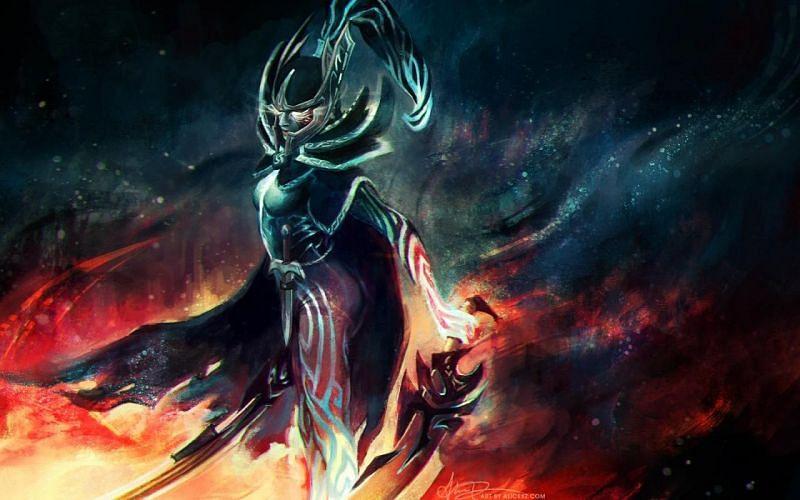 Phantom Assassin has the best Dota 2 critical strike ability (Imae via Valve)
