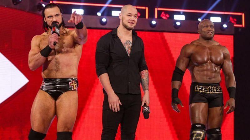 Drew McIntyre, King Corbin, and Bobby Lashley had a brief alliance a few years ago