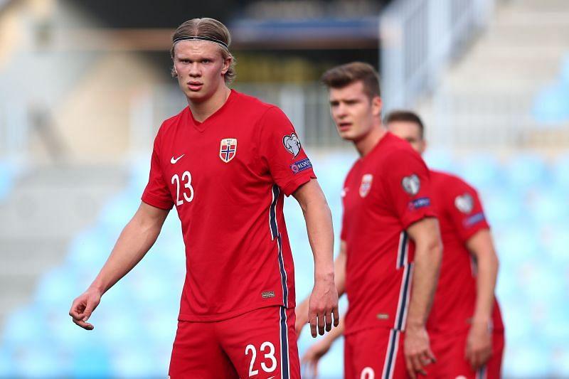 Norway welcome Greece to the La Rosaleda Stadium