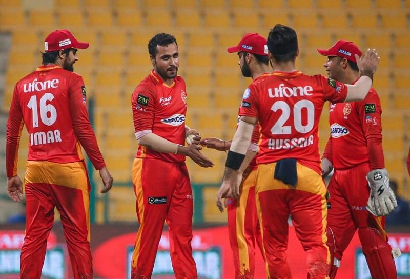 Islamabad United has won five games in a row in PSL 2021. Pic: Islamabad United/ Twitter
