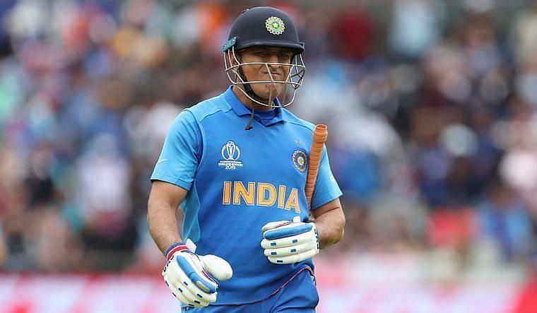 MS Dhoni's Last Match for India