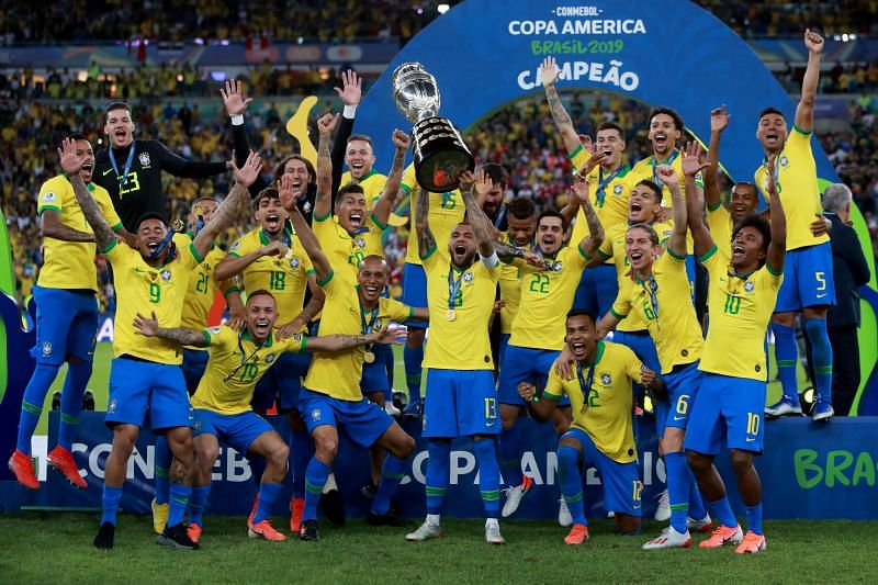Brazl were imperious as they triumped at the 2019 Copa America
