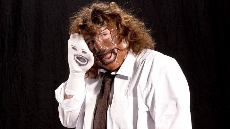 Mick Foley debuted in WWE as Mankind in 1996