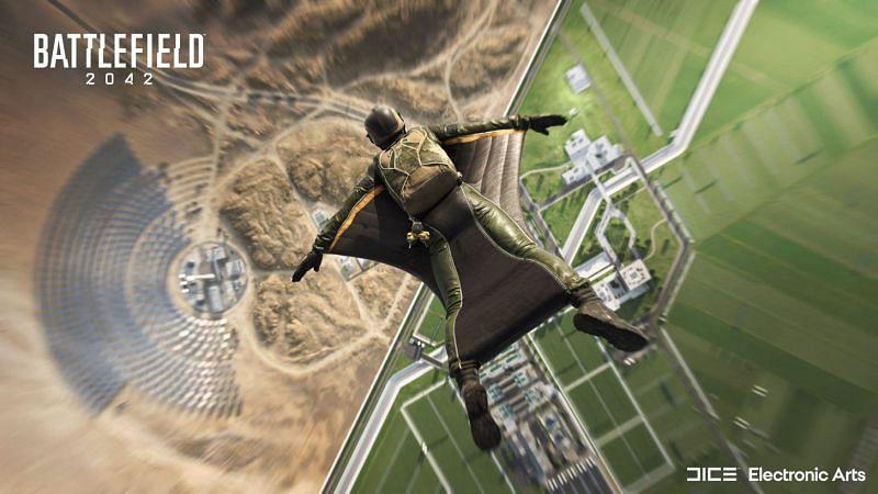 Battlefield 2042 is a semi-futuristic reimagination of the Battlefield franchise (Image via EA)