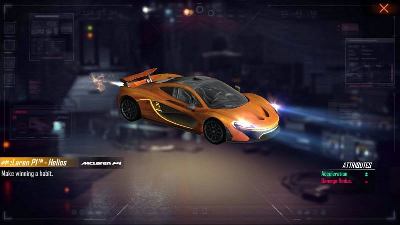 McLaren P1 - Helios is up for grabs in the new top up event