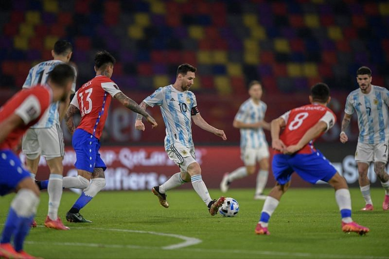 Argentina 1-1 Chile: Player ratings as La Albiceleste are held despite  Lionel Messi's early penalty | 2022 FIFA World Cup qualifiers