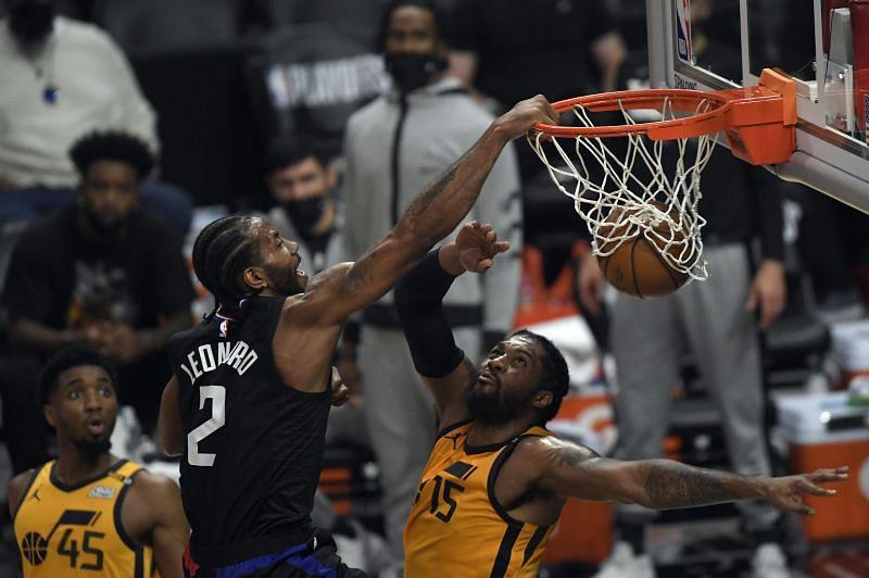 Kawhi Leonard was having a huge postseason for the LA Clippers