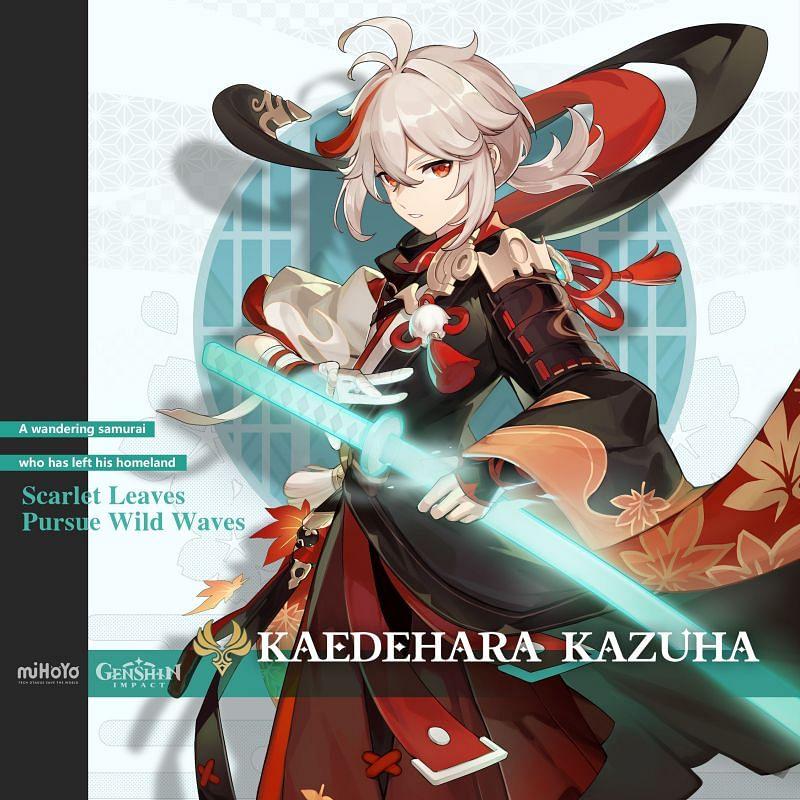 Kazuha (image via miHoYo)