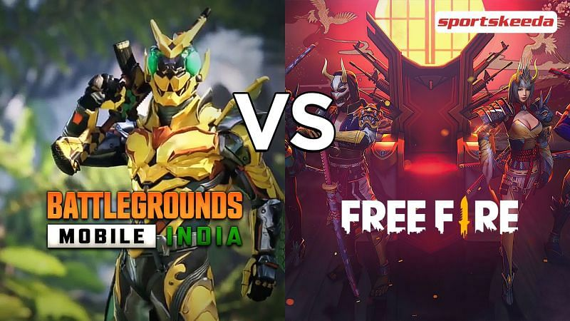 Comparing Free Fire and BGMI to see who is better on low-end Android devices
