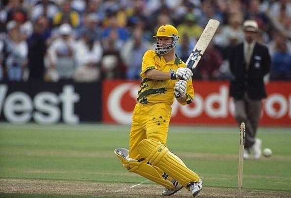 Steve Waugh during the 1999 World Cup