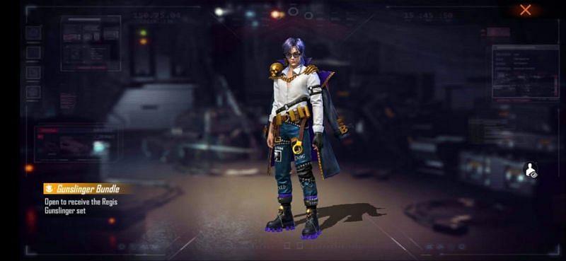 Royal Gunslinger bundle (Male Avatar)