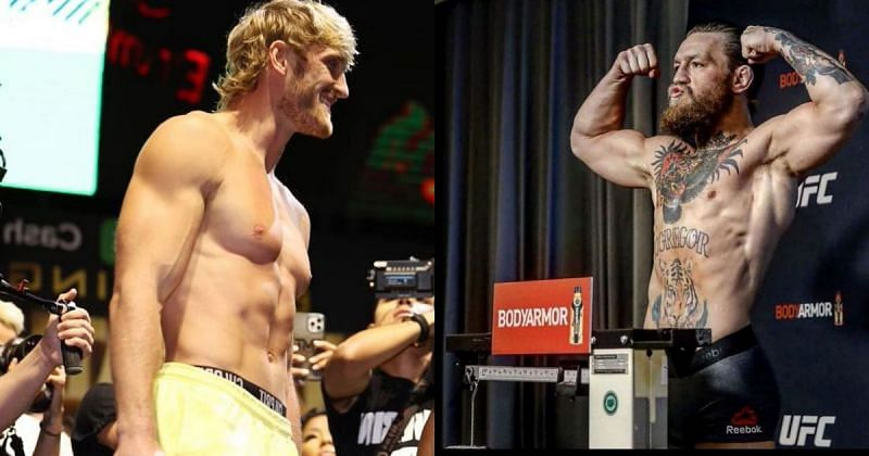 Logan Paul (L) and Conor McGregor (R). (Image courtesy: @thenotoriousmma on Instagram)