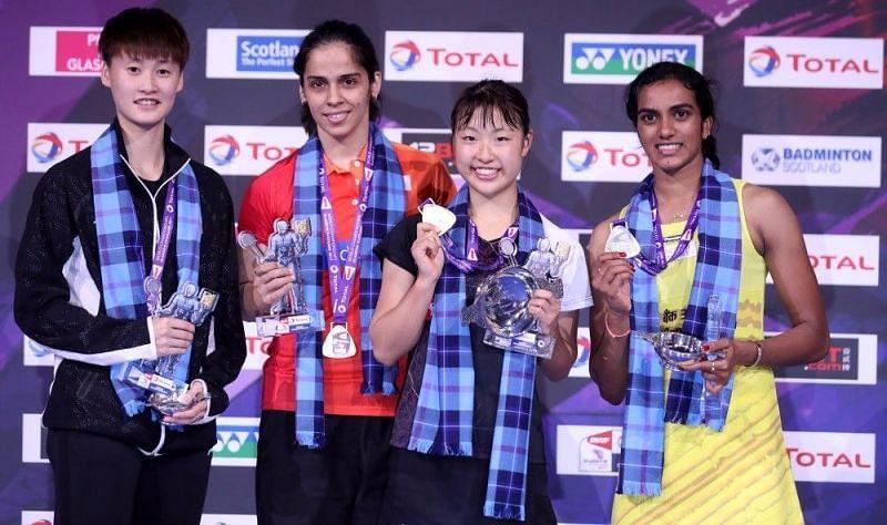 Women Badminton Stars