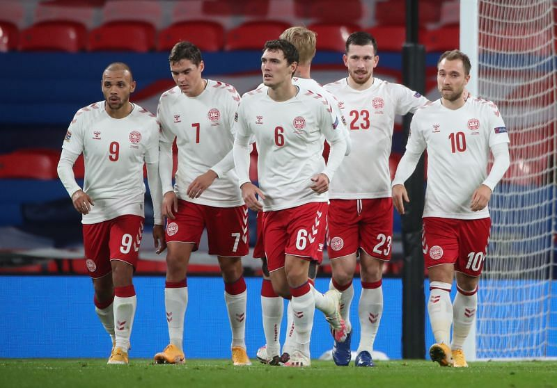 Denmark take on Finland at Euro 2020