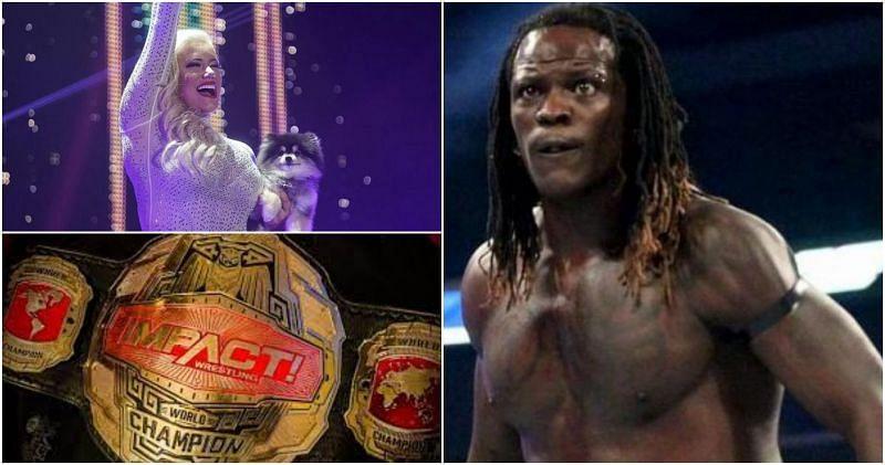 WWE सुपरस्टार्स जो Impact वर्ल्ड चैंपियंस थे