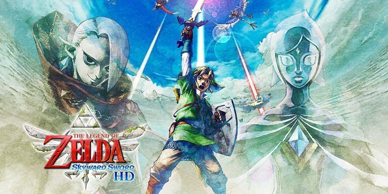 The Legend of Zelda: Skyward Sword HD. Image via Nintendo