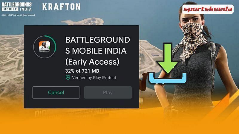 Battlegrounds Mobile India का अर्ली एक्सेस(Image Credit: Sportskeeda)