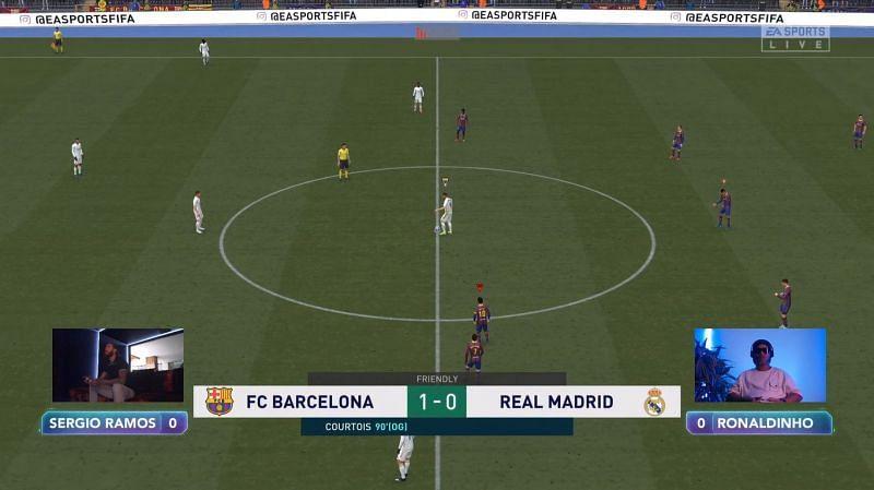 Screengrab via GWB Twitch channel - FIFA 21