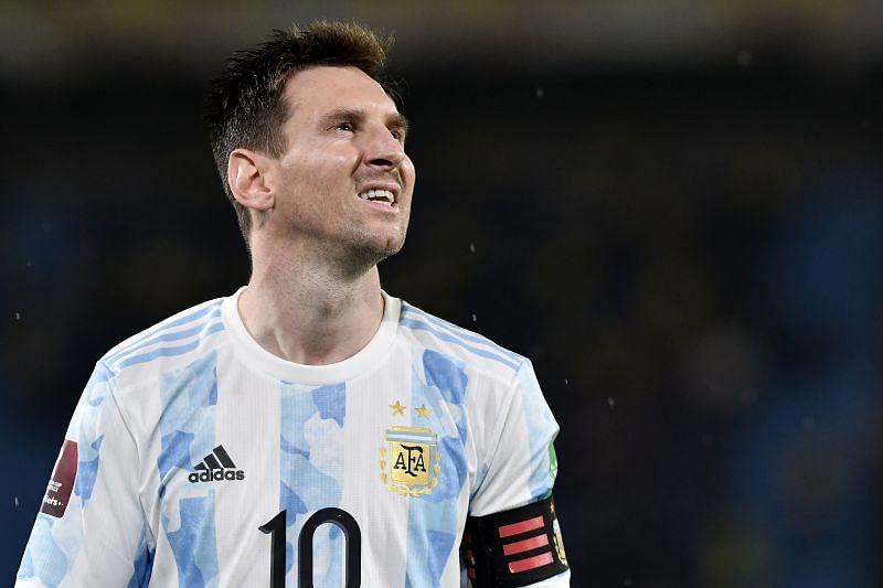 Lionel Messi went close for Argentina
