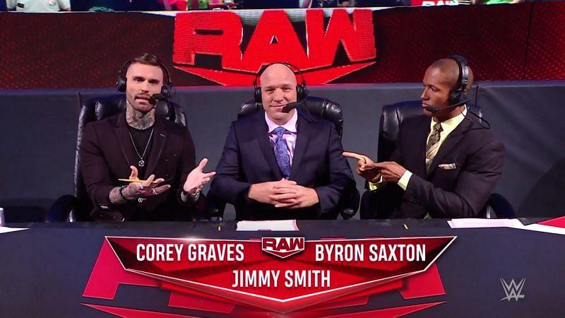 How did Jimmy Smith do on WWE RAW last night?