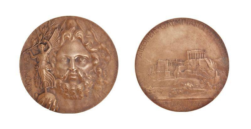 Οι τυχεροί χαλκοί που πήραν χάλκινα μετάλλια για να πάρουν τη δεύτερη θέση στους Ολυμπιακούς Αγώνες του 1896 στην Αθήνα