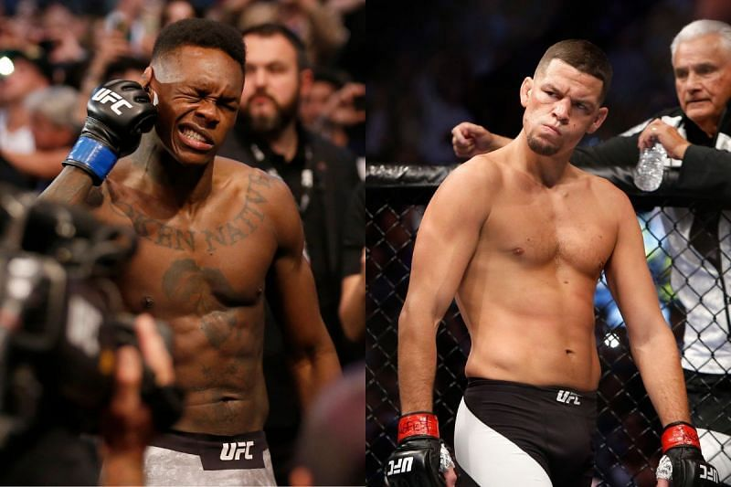 UFC 263 set to feature Israel Adesanya [Left] and Nate Diaz [Right]