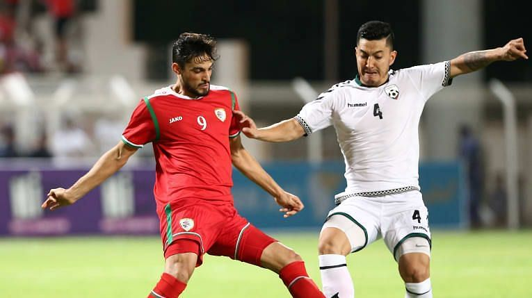 Afghanistan succumbed to a 1-2 defeat to Oman before the India game. (Image: AFC)