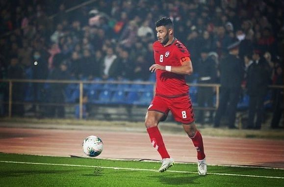 Afghanistan will depend on the pace and versatility of Farshad Noor to score the goals against India.