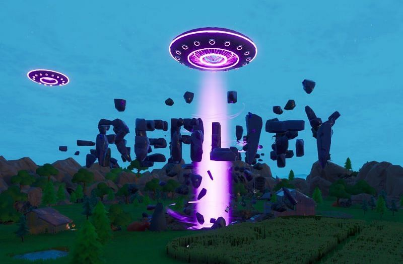 """The countdown to the """"Last Reality"""" begins (Image via Fortnite/Epic Games)"""